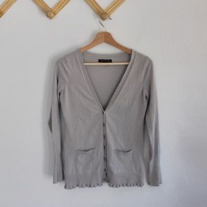 Express | gray cardigan